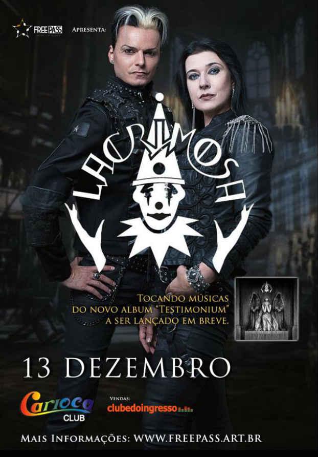 Concurso cultural para o show do Lacrimosa