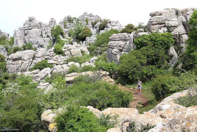 Urlaub mit Kindern - Andalusien - Naturpark El Torcal de Antequera