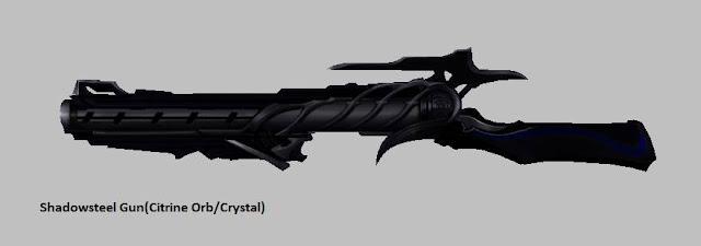 Shadowsteel Gun [Citrine Orb] Force Gunner