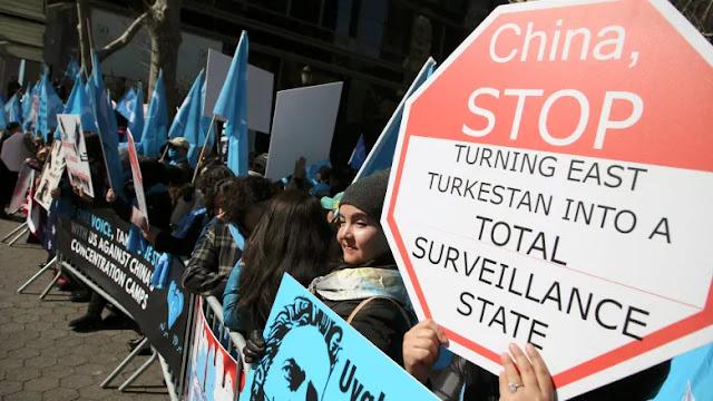 Jerman Lindungi Muslim Uigur dari Penindasan Tiongkok