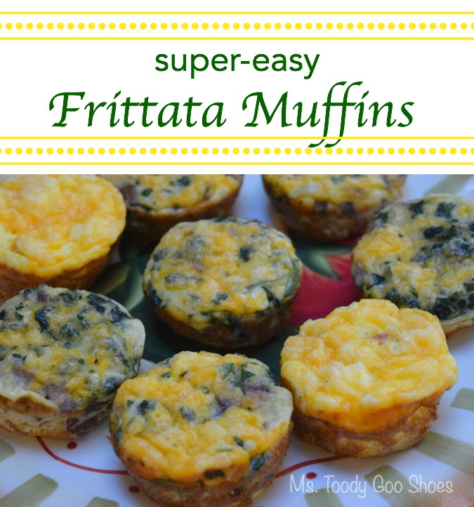 Super-Easy Frittata Muffins | Ms. Toody Goo Shoes