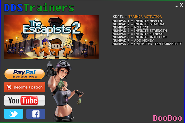 The Escapists 2 Trainers and Cheats for PC