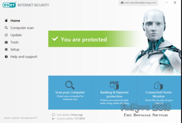 Download ESET Internet Security 2018 Offline Installer