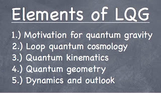 Elements of loop quantum gravity lecture outline