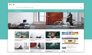 Aeon Premium Blogger Template - Responsive Blogger Template