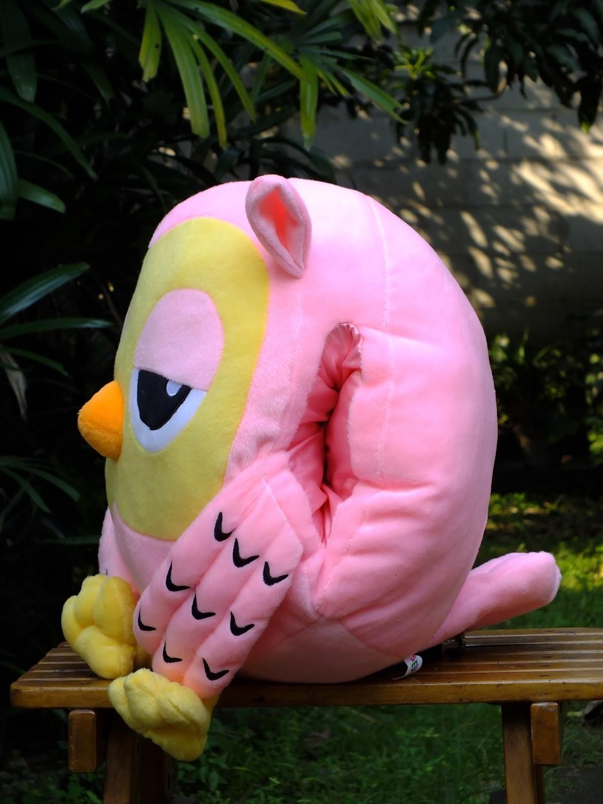 Boneka Tangan Roumang Burung Hantu ( HK - 123 )  d96b3ef015