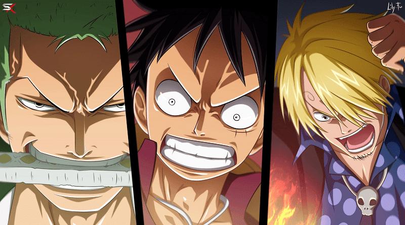 3 Trio Terkuat di Anime One Piece - Kabar Anime