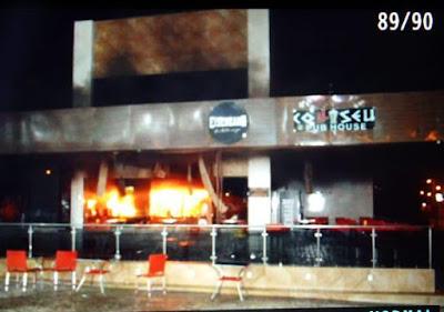[Vídeo] Colliseu Pub House em Pau dos Ferros pega fogo no dia da sua inauguração
