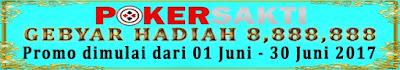 Pokersakti | Gebyar Hadiah 8.888.888 !!!