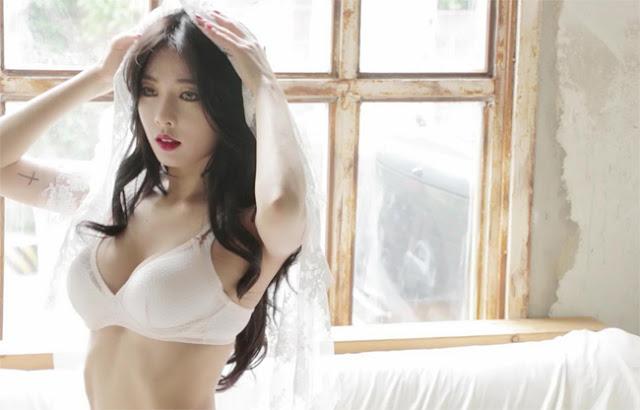 Hot girls Hyuna sexy beautiful korean singer