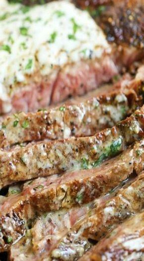 Steak With Garlic Parmesan Cream Sauce