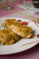 (Kurczak w sosie pomarańczowym