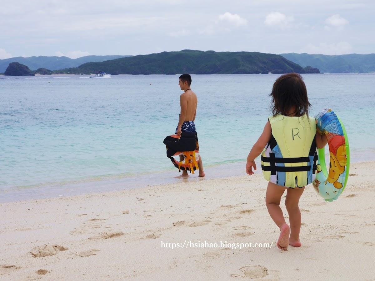 沖繩-北濱海灘-小孩-子供-北浜ビーチ-beach-慶良間群島-座間味島-阿嘉島-景點-慶良間諸島-推薦-自由行-旅遊-Okinawa-kerama-islands-aka-zamami