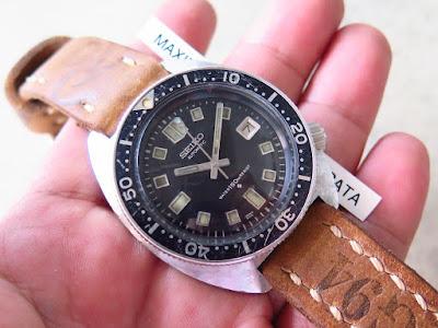Cocok untuk Anda yang sedang mencari jam tangan Seiko Diver  RARE ....  SEIKO DIVER 6105 8000.... SEIKO DIVER NEVER DIEE. 848aba6967