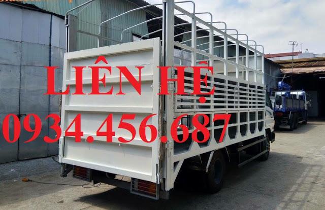 Bán xe Hyundai 110s thùng chở xe máy