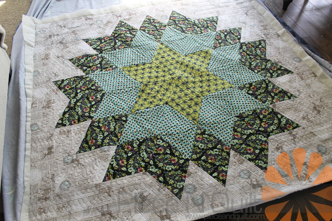 Piece N Quilt: Giant Star Quilt - Custom Machine Quilting by ... : giant star quilt - Adamdwight.com