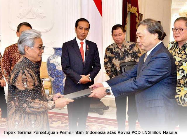 Inpex Terima Persetujuan Pemerintah Indonesia atas Revisi POD LNG Blok Masela