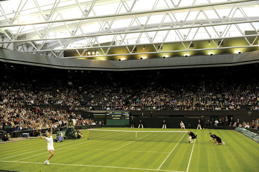 Wimbledon goes LED – just in time for finals
