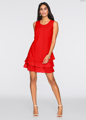 Vestidos rojos cortos baratos