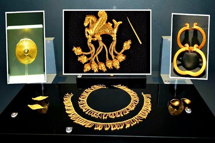 Defineciler Kral Karun'un hazinelerini yasa dışı şekillerde kaçakçılara sattılar.