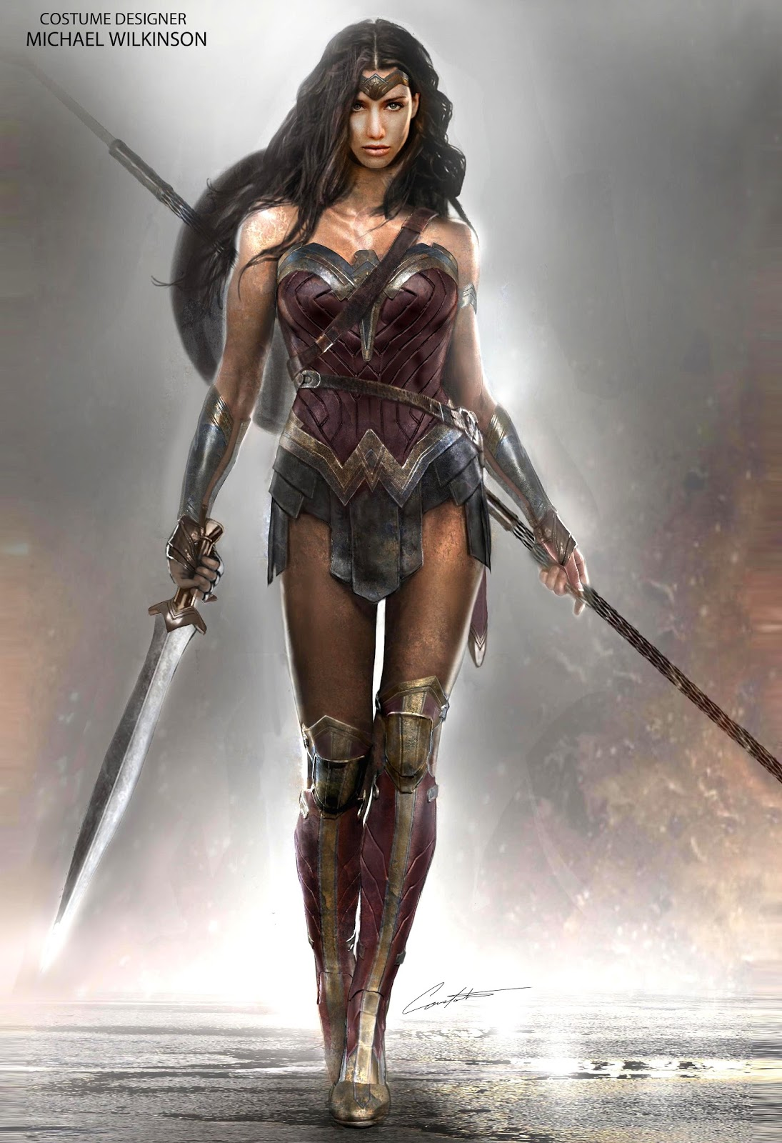 Wonder Woman Bvs Costume