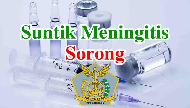 Alamat Tempat Suntik Vaksin Meningitis di Sorong