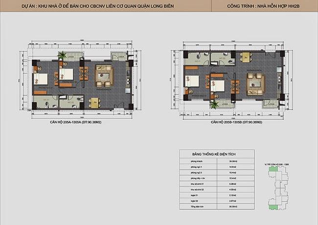căn hộ A09 - B09 chung cư Lotus Lake View