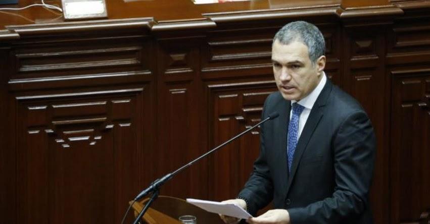 SALVADOR DEL SOLAR: Presidente del Consejo de Ministros sustenta hoy ante en el Congreso cuestión de confianza