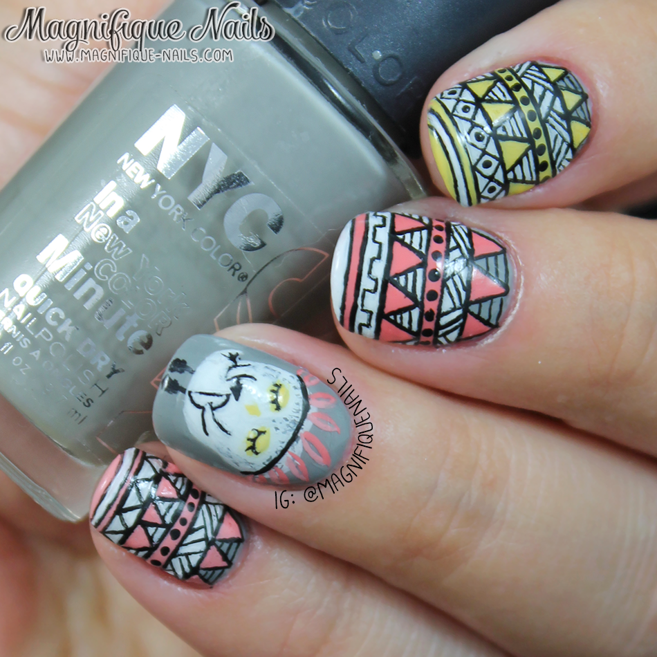 Magically Polished Nail Art Blog Besties Twin Nails