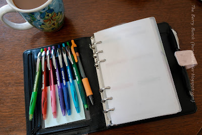 Living Intentionally: My Planner Set Up: The Berry Bunch