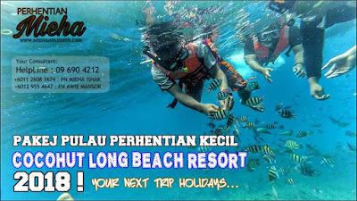 Pakej Long Beach Pulau Perhentian Kecil : Cocohut Resort