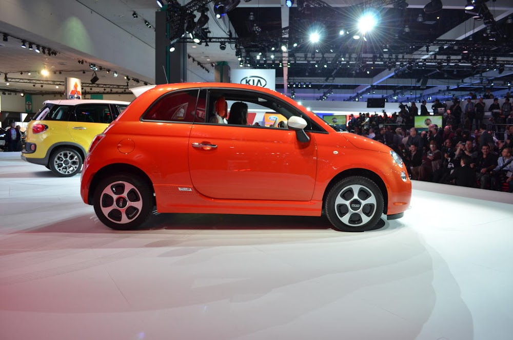 2013 Fiat 500e Rated for 108 MPGe on the Highway