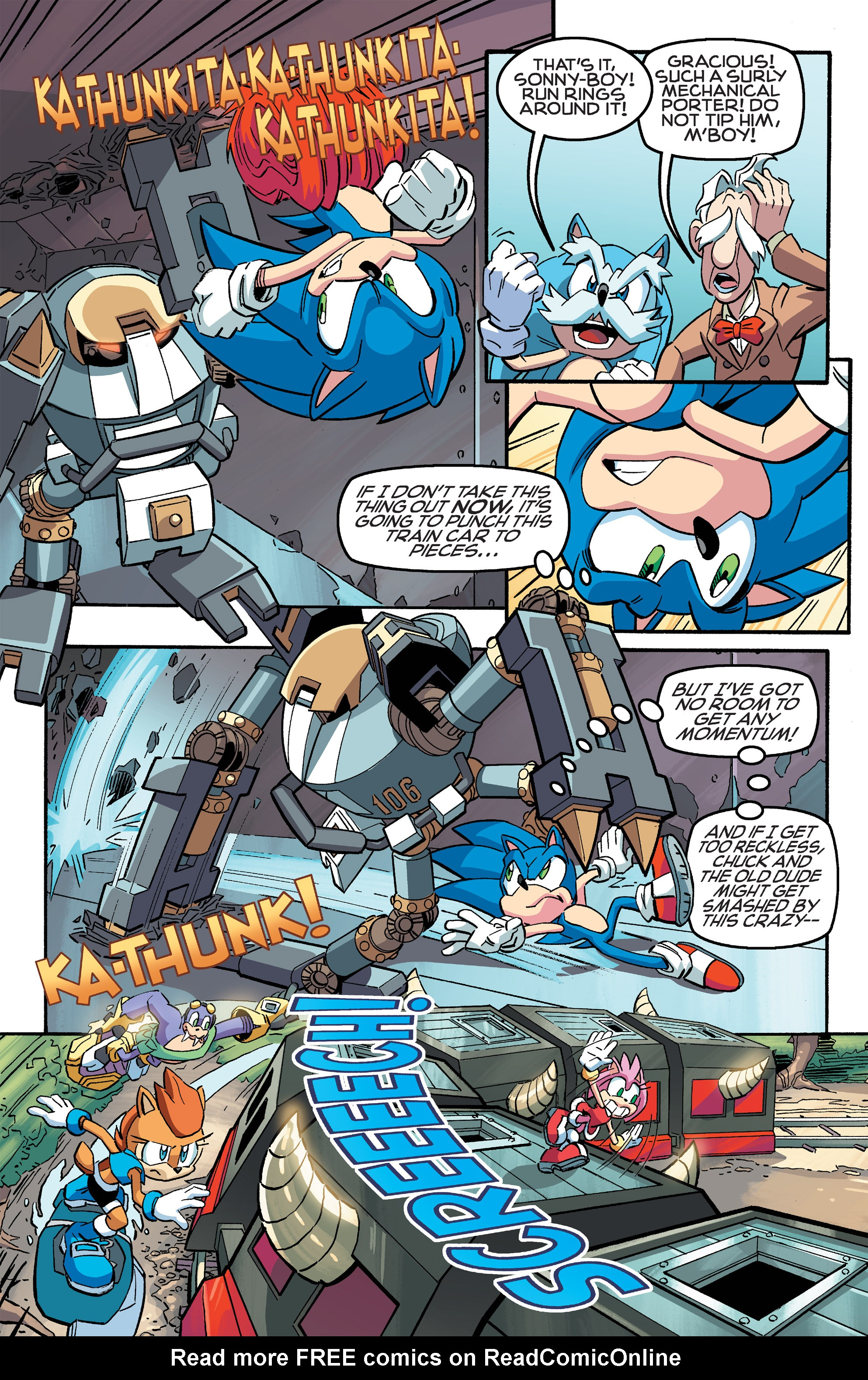 Read online Sonic The Hedgehog comic -  Issue #259 - 7