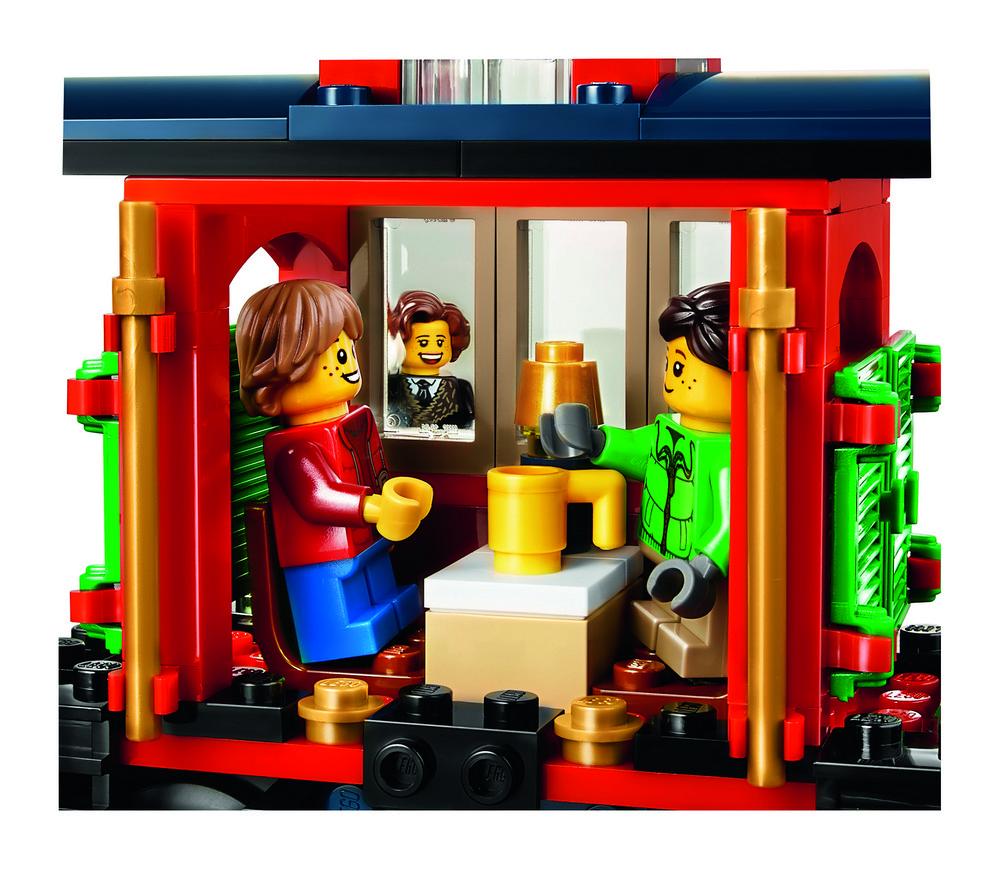 樂高聖誕火車10254官圖公開 蒸汽車頭、禮物車、小月臺、守車全包 - 魯蛇實驗室