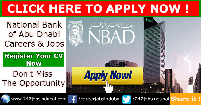 Staff Recruitment at National Bank of Abu Dhabi and NBAD Careers