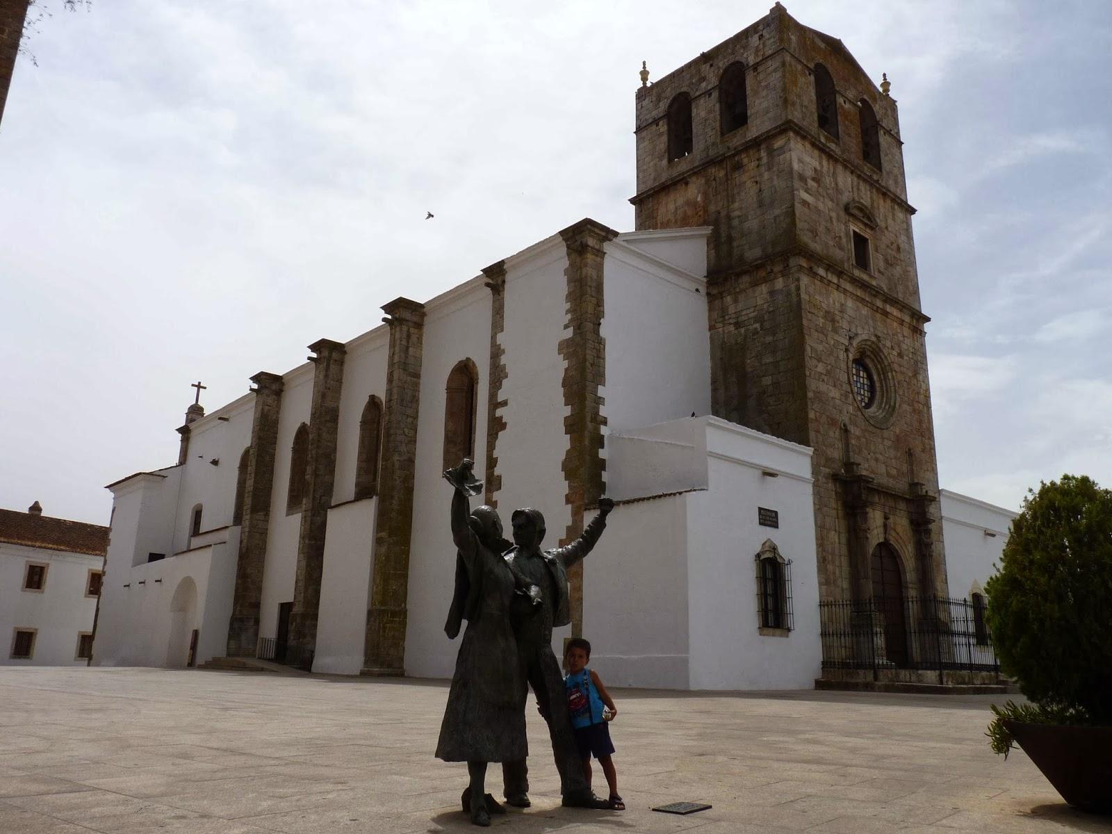Olivenza, Iglesia de Santa María del Castillo.