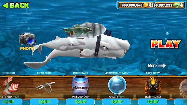 cheat hungry shark
