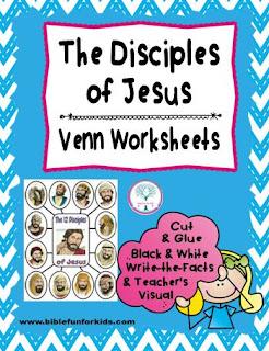 http://www.biblefunforkids.com/2015/06/disciples-venn-worksheets.html