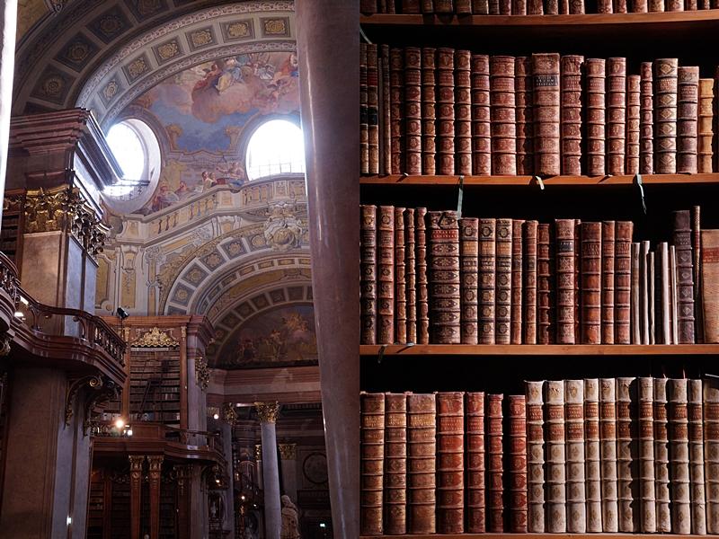 Prunksaal Österreichische Nationalbibliothek Wien // Austrian National Library Vienna