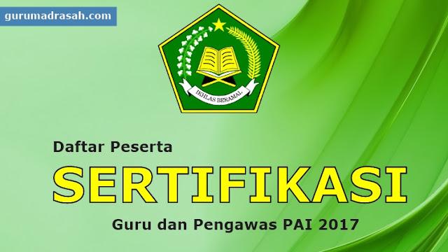 Sertifikasi Guru Madrasah Tahun 2017