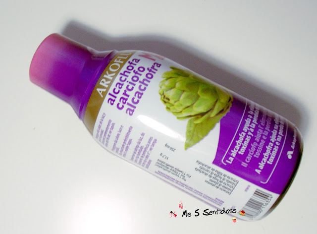 Arkofluido Alcachofa mix detox