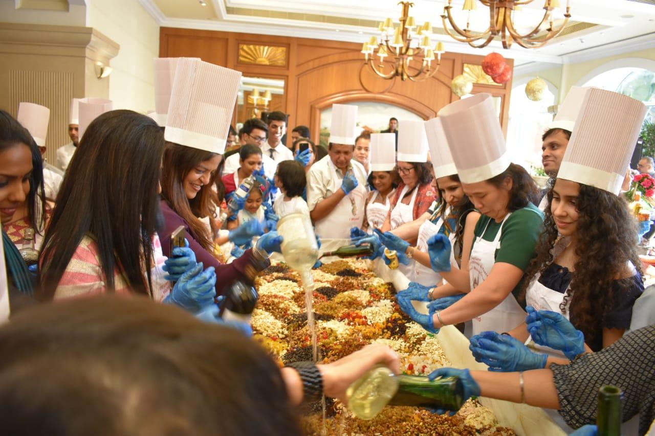 Cake Mixing Ceremony at ITC Grand Central | Mumbai News