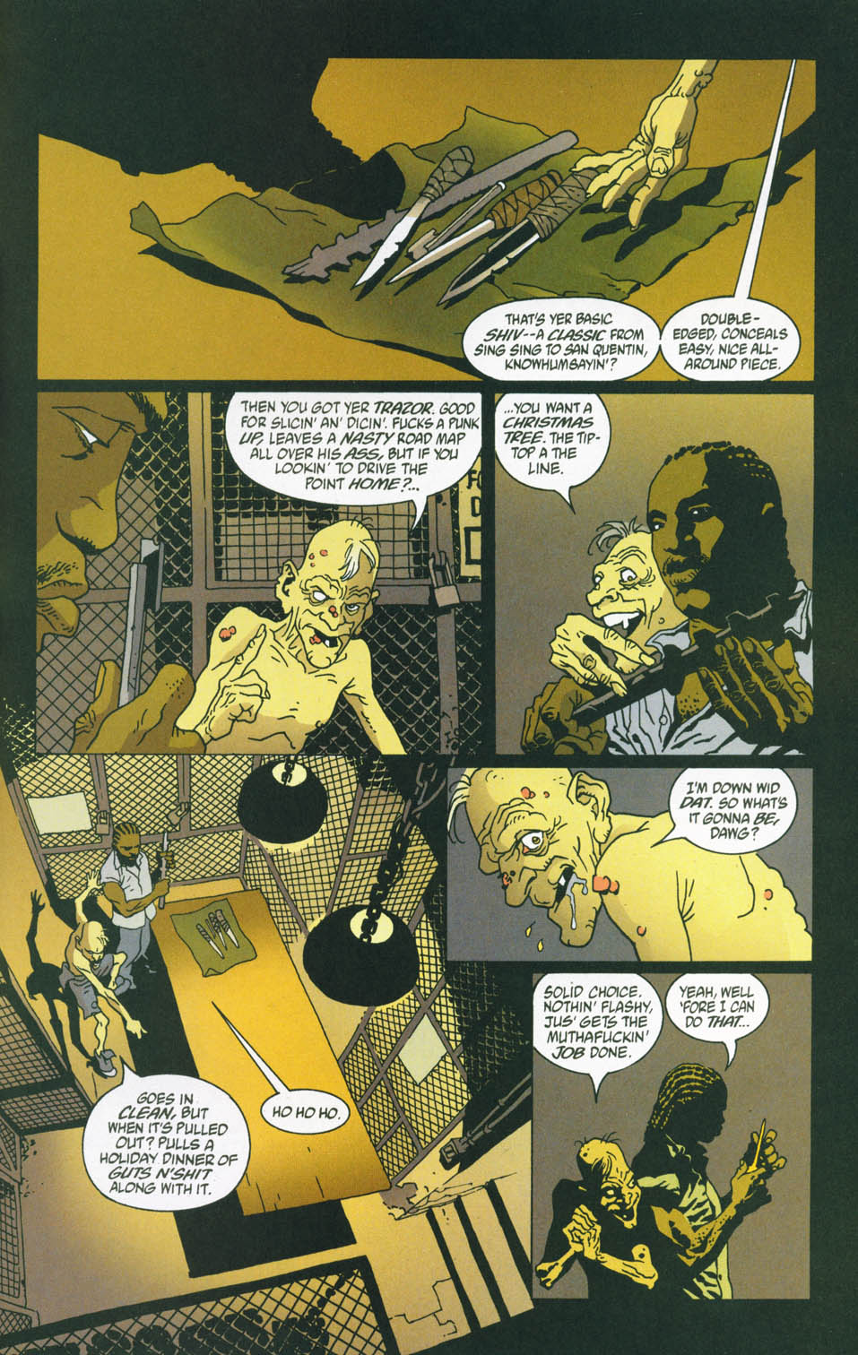 Read online 100 Bullets comic -  Issue #45 - 12