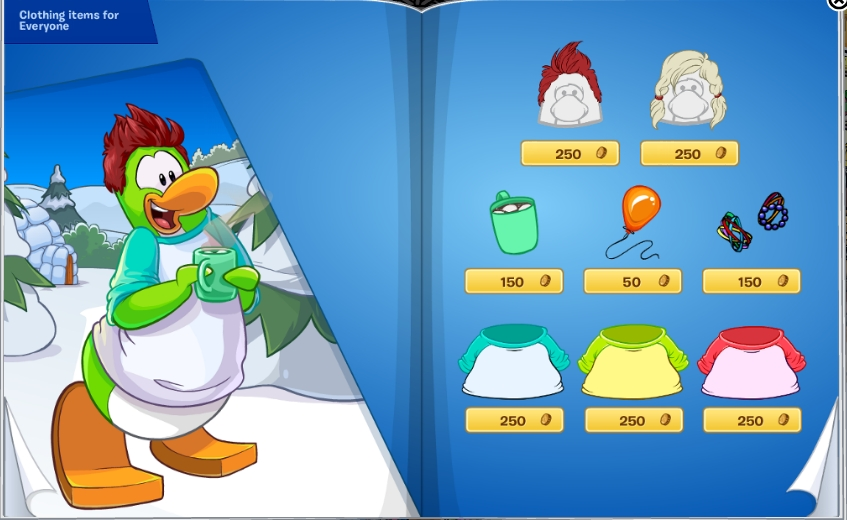 Image result for club penguin 2016 catalogue