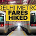 After - Effect on Fare Hike in Delhi Metro