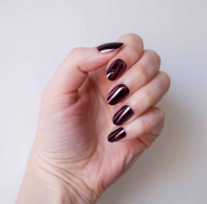Beauty: Elegant Touch glue on and press on nail review - THE STYLING ...