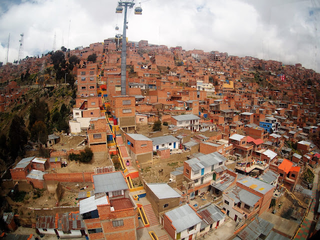 La Paz, Teleferico