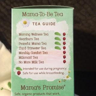 mama to be tea sample earth mama angel baby organics review