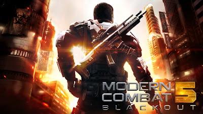 Modern Combat 5 Blackout v1.8.1b Mega MOD APK + Data