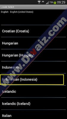 Cara Menambah Bahasa Indonesia di HP Android Berhasil 100% - www.divaiz.com